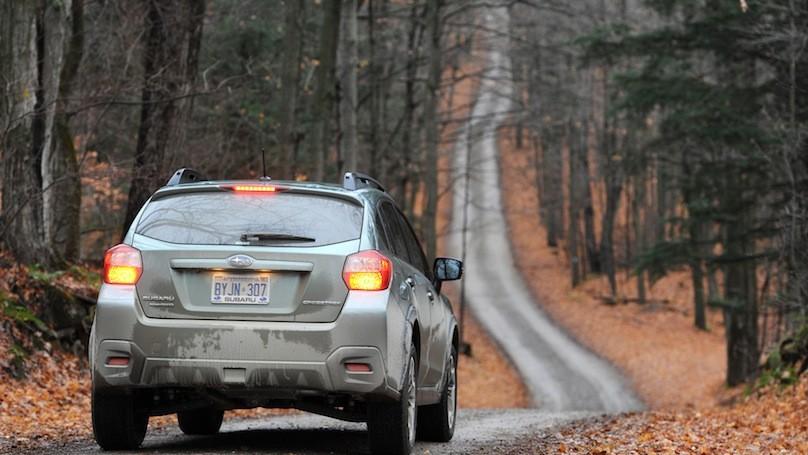 Subaru Crosstrek 2016-rear