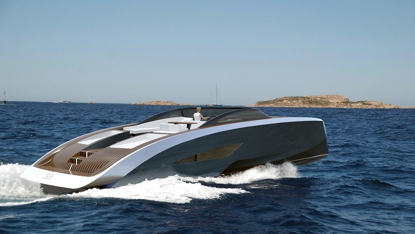 Bugatti Super Speed Boat