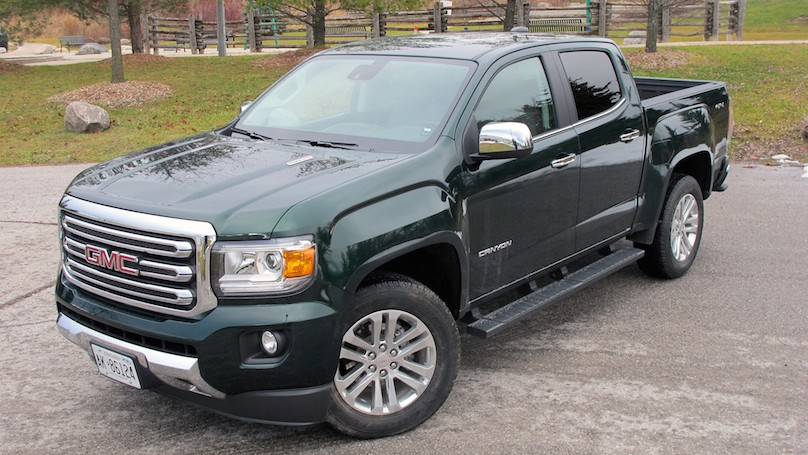 2016 Gmc Canyon Diesel Mid Size Pickup With Full Size Power Wheels Ca