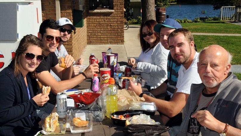 JO Calabogie Road Trip - lunch