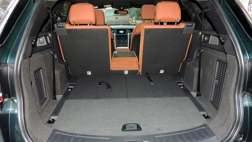 Land Rover Discovery Sport 2016 - cargo
