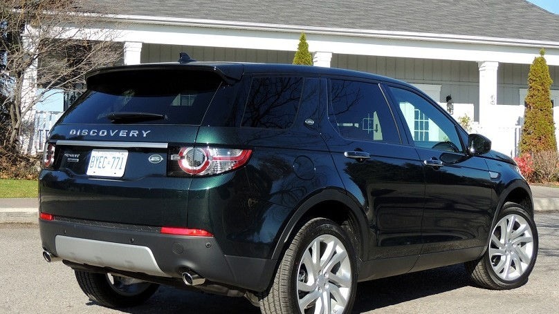 Land Rover Discovery Sport 2016 - rear