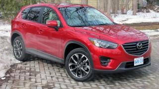 Mazda safety awards