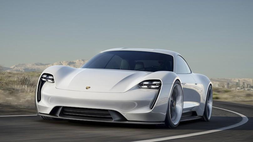 Porsche all electric car