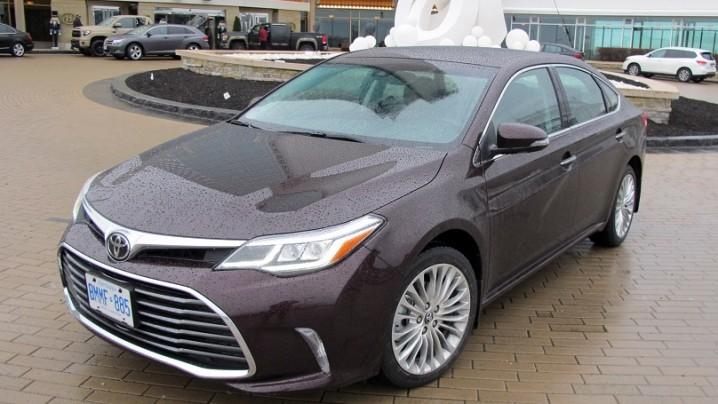 Toyota Avalon 2016 main
