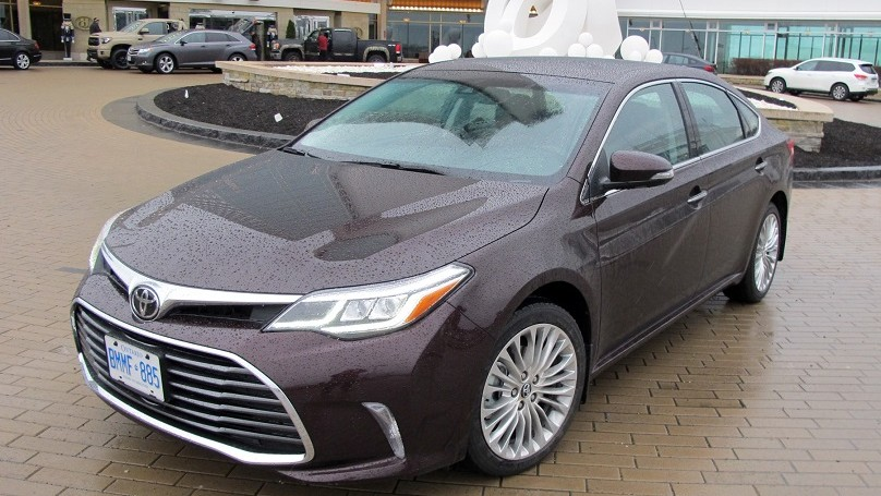 Toyota Avalon 2016 main