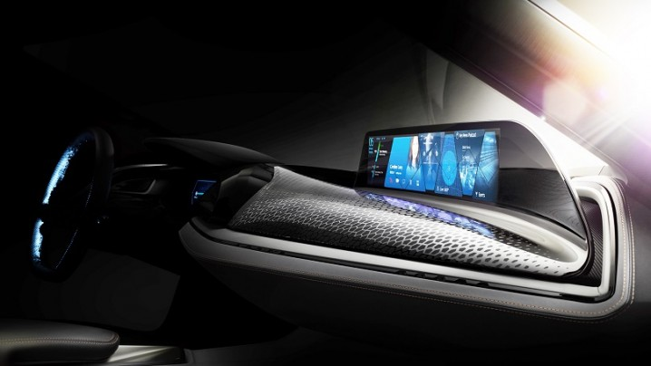 BMW touchless touch screen