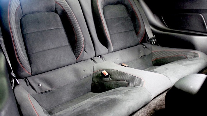 Shelby GT350R Mustang back seat