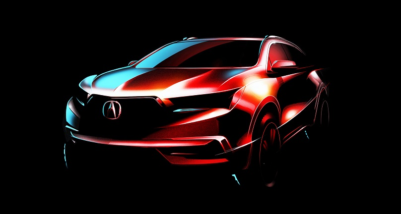 New 2017 Acura Mdx To Bow In New York Wheels Ca