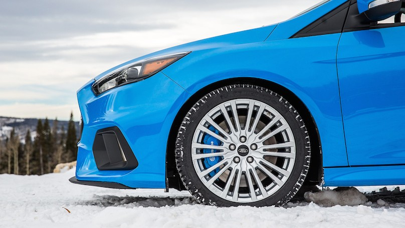Certified wheel and tire option for all-new 2016 Focus RS