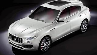 Maserati SUV at Geneva