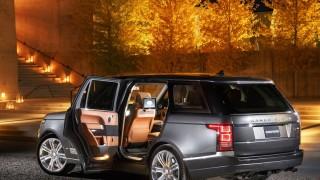 Range Rover lux road trip