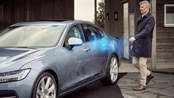 Volvo-door-key- phone app