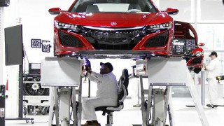 Acura NSX production begins