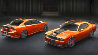 Dodge Challenger Charger colours