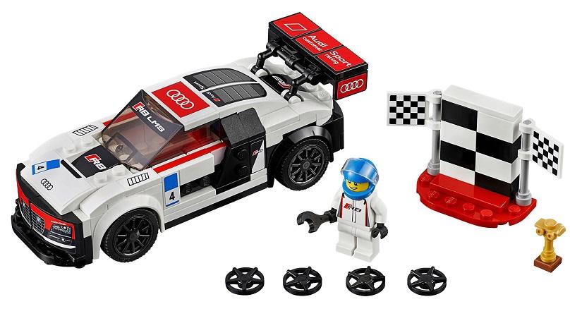 Lego Audi racecars