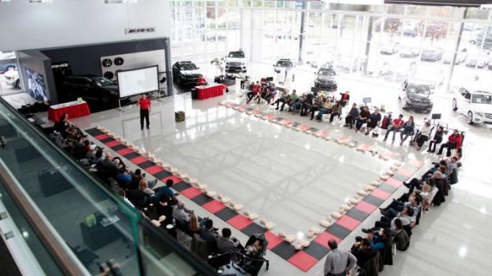 Mercedes CPR clinics