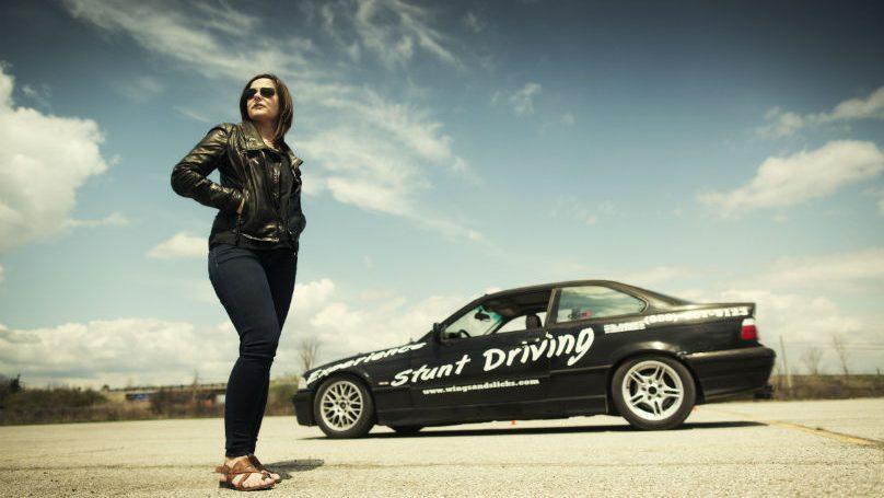 Bond stunt driving school