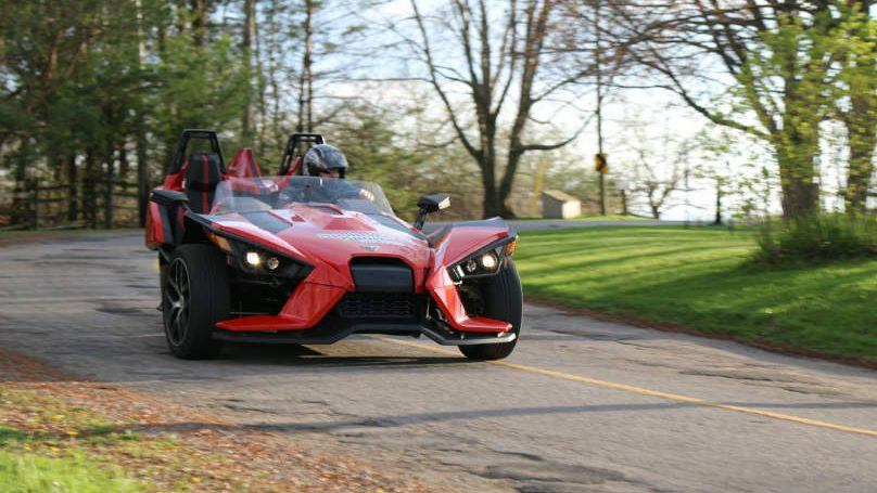 2016 polaris slingshot Main