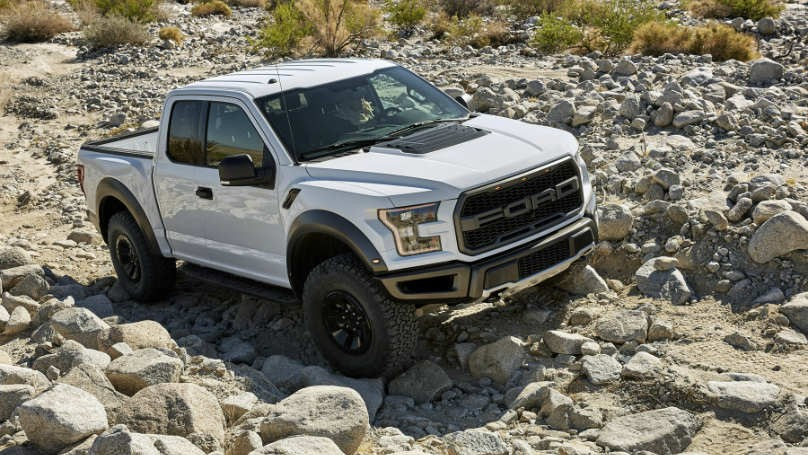 Ford F-150 Raptor tires