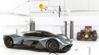 Aston Red Bull hyper car