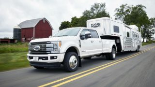 Ford Super Duty drive assists