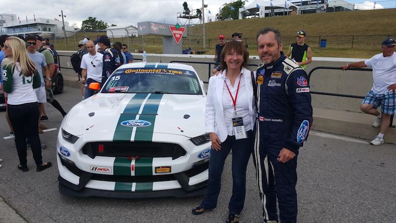 Joann Villeneuve with Scott Maxell
