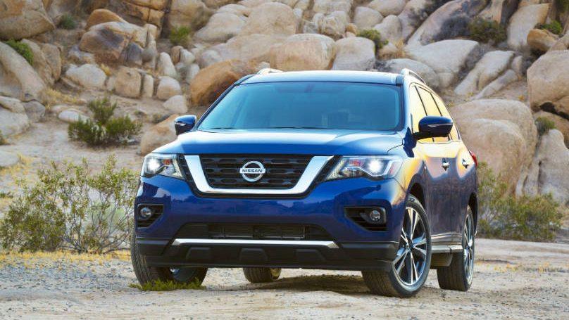 Nissan Pathfinder safety