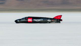 Worlds fastest Triumph