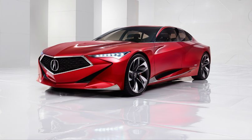 Acura Precision Concept Debuts At Pebble Beach Wheels Ca