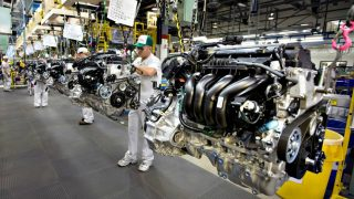 Engine-plant-line
