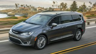 Chrylser Pacifica safety
