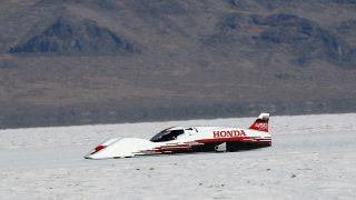 Honda speed record