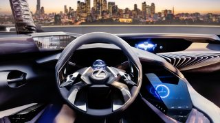 Lexus UX concept at Paris