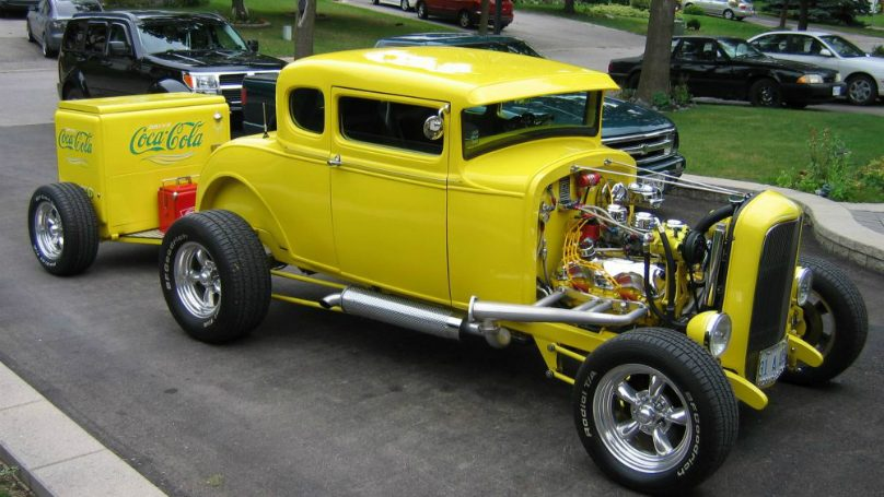1931 Ford 5-window Coupe Highboy