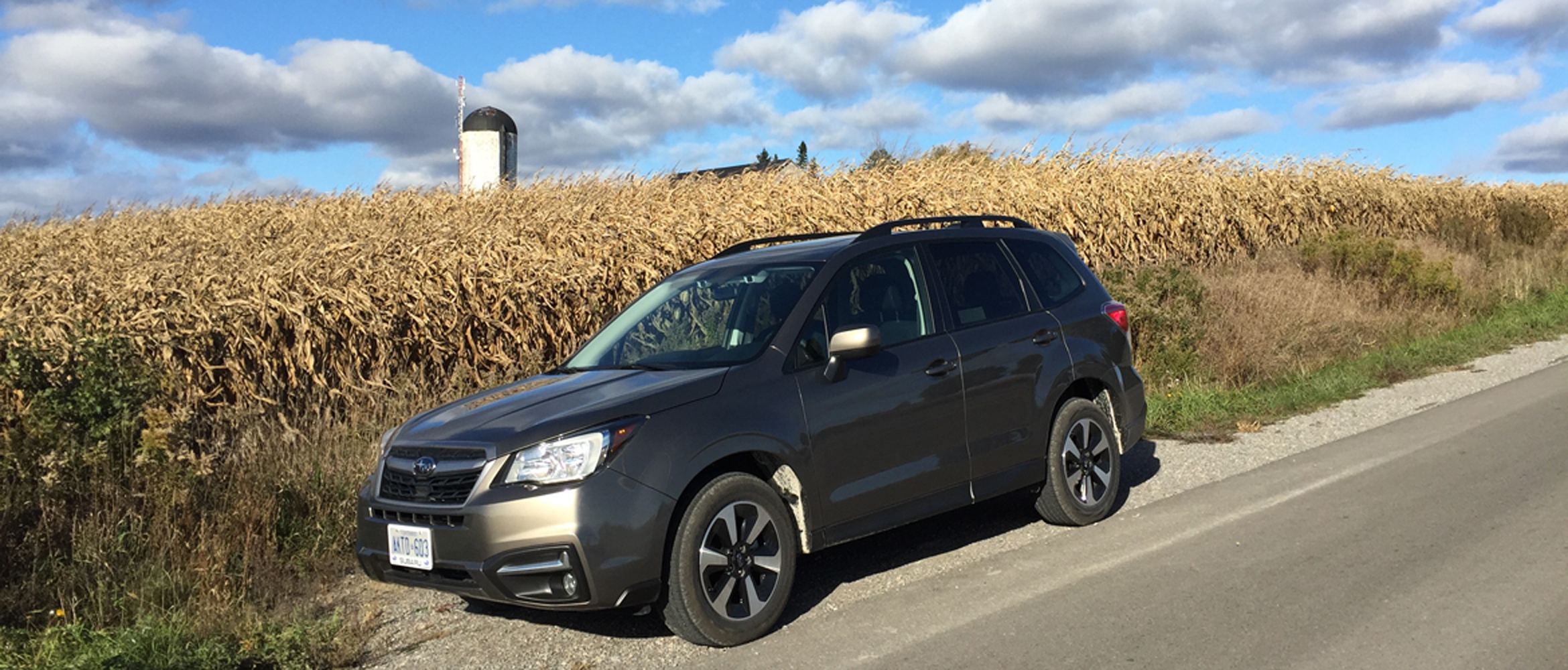 Small Car Category Forester