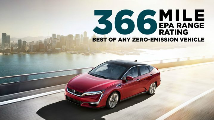 Honda's Clarity Fuel Cell