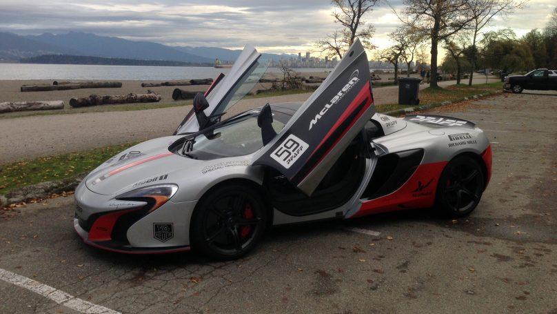 McLaren 650S roadster