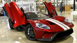 Ford Gt First Off Line