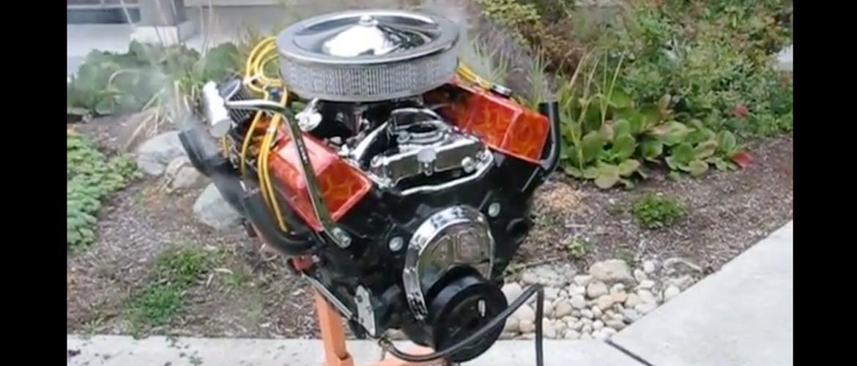 V8 Gas grill