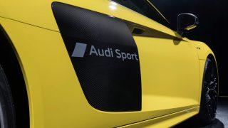 Audi R8 sideblade