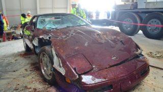 Corvette rescued