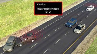 Cadillac V2V safety