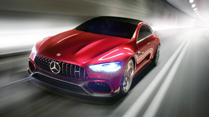 Mercedes at New York AMG