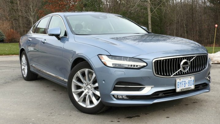 2017 Volvo S90 flagship