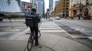 city bicycling