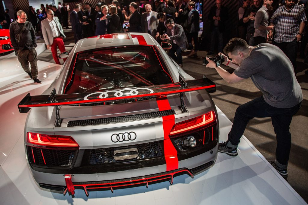World Premiere Audi R8 Lms Gt4 At New York Auto Show Wheelsca