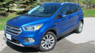 2017 Ford Escape Review Titanium