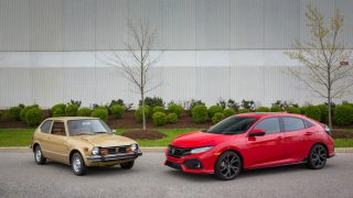 Two-Millionth Honda Civic