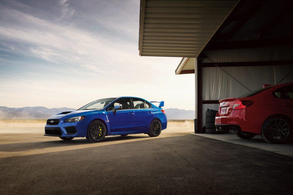 TrackWorthy - 2018 Subaru WRX STI and WRX